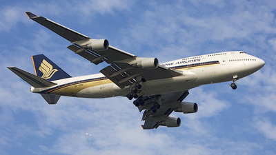 9V-SMW - Boeing 747-412 - Singapore Airlines