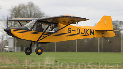G-OJKM - Rans S-7 Courier - Private