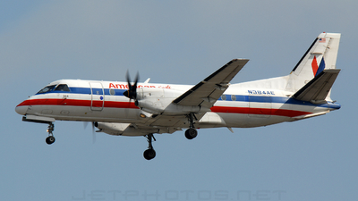 N384AE - Saab 340B - American Eagle