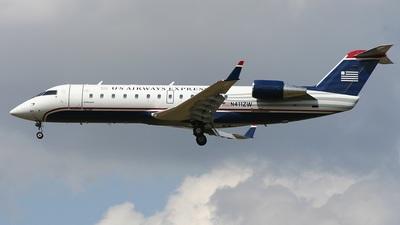 N411ZW - Bombardier CRJ-200LR - US Airways Express (Air Wisconsin)