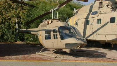 040 - Bell 206B JetRanger - Israel - Air Force