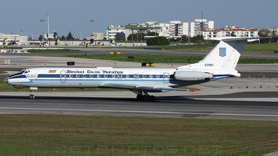 63982 - Tupolev Tu-134A-3 - Ukraine - Government