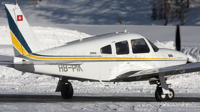 A picture of HBPIK - Piper PA28R201T - [28R7803343] - © Peter Menner