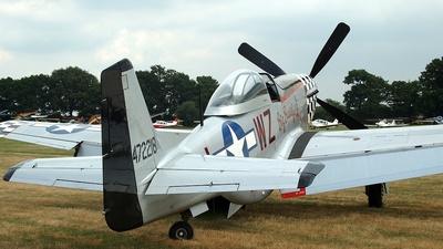 G-HAEC - CAC CA-18 Mk.22 Mustang - Private