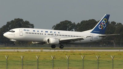 SX-BKC - Boeing 737-484 - Olympic Airlines