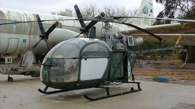03 - Aérospatiale SE 313B Alouette II - Israel - Air Force