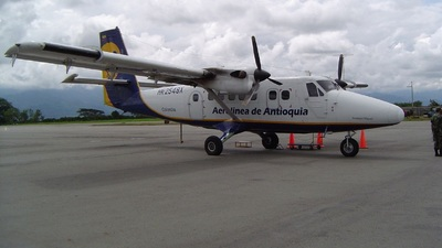 HK-2548X - De Havilland Canada DHC-6-300 Twin Otter - ADA Aerolínea de Antioquía