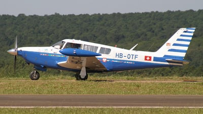HB-OTF - Piper PA-24-260 Comanche C - The Flying Doctor