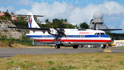 N420AT - ATR 72-212 - American Eagle (Executive Airlines)