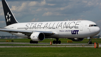 SP-LPE - Boeing 767-341(ER) - LOT Polish Airlines