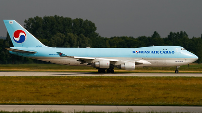 HL7403 - Boeing 747-4B5F(SCD) - Korean Air Cargo