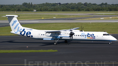 G-JECH - Bombardier Dash 8-Q402 - Flybe