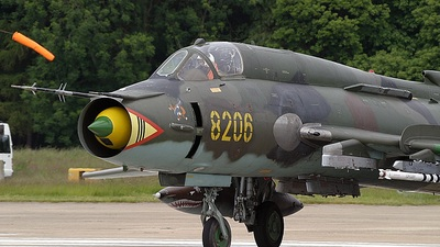 8206 - Sukhoi Su-22M4 Fitter K - Poland - Air Force