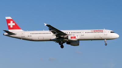 HB-IOC - Airbus A321-111 - Swiss