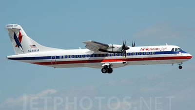 N288AM - ATR 72-212 - American Eagle (Executive Airlines)
