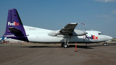 N702FE - Fokker F27-600 Friendship - FedEx Feeder (Empire Airlines)