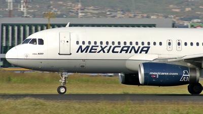 F-OHMG - Airbus A320-231 - Mexicana