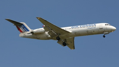 F-GPNK - Fokker 100 - Air France (Régional Compagnie Aerienne)