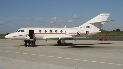 F-RAED - Dassault Falcon 20C - France - Air Force