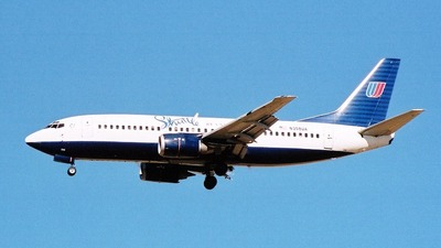N358UA - Boeing 737-322 - Shuttle by United