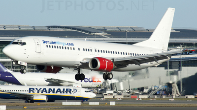 OK-WGY - Boeing 737-436 - Danube Wings (CSA Czech Airlines)