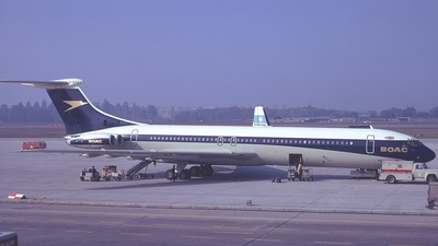 G-ASGO - Vickers Super VC-10 - British Overseas Airways Corporation (BOAC)