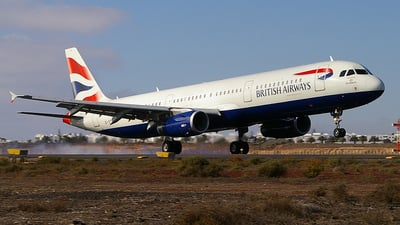 G-TTIE - Airbus A321-231 - British Airways (GB Airways)