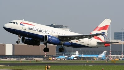 G-EUPS - Airbus A319-131 - British Airways