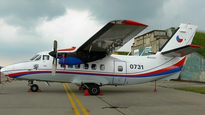 0731 - Let L-410UVP Turbolet - Czech Republic - Air Force