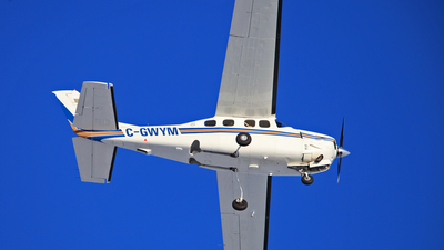 A picture of CGWYM - Cessna P210N Pressurized Centurion - [P21000786] - © Mike MacKinnon
