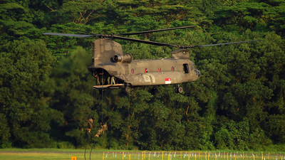 88197 - Boeing CH-47SD Chinook - Singapore - Air Force