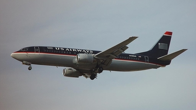 N430US - Boeing 737-4B7 - US Airways