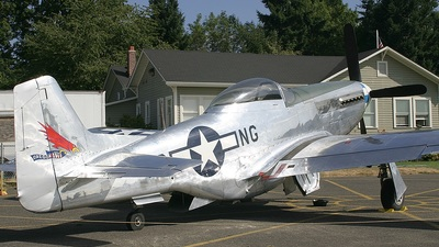 N51DH - North American P-51D Mustang - Untitled