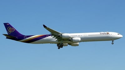 HS-TNA - Airbus A340-642 - Thai Airways International