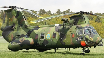 04071 - Boeing Vertol Hkp4C - Sweden - Armed Forces