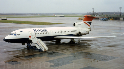 G-ARPO - Hawker Siddeley HS-121 Trident 1 - British Airways