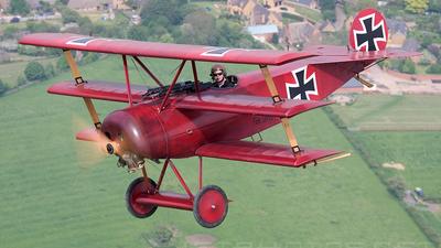 G-FOKK - Fokker DR.1 - Private