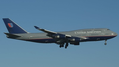 N194UA - Boeing 747-422 - United Airlines