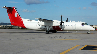 C-FHQG - Bombardier Dash 8-Q315MPA - Australia - Customs