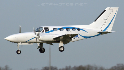 A picture of GHIJK - Cessna 421C Golden Eagle - [421C0218] - © Paul Stevenson
