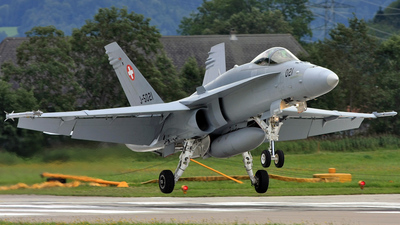 J-5021 - McDonnell Douglas F/A-18C Hornet - Switzerland - Air Force