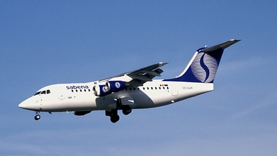 OO-DJR - British Aerospace Avro RJ85 - Sabena