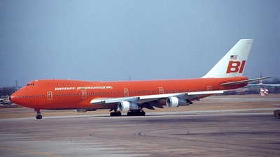 N601BN - Boeing 747-127 - Braniff International Airways