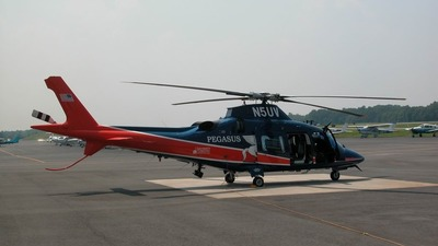 N5UV - Agusta A109E Power - University of Virginia Health System (Pegasus Helicopter)