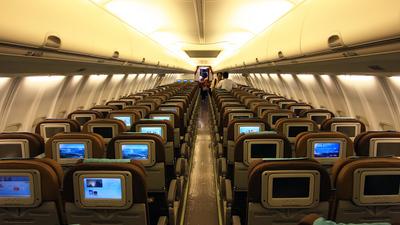 PK-GMF - Boeing 737-8U3 - Garuda Indonesia
