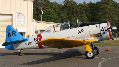 N211A - North American SNJ-6 Texan - Private