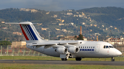 EI-RJI - British Aerospace Avro RJ85 - Air France (CityJet)