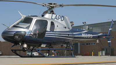 N661PD - Eurocopter AS 350B2 Ecureuil - United States - Los Angeles Police Department (LAPD)