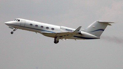 A picture of N192FG - Gulfstream II - [192] - © Robert St-Pierre