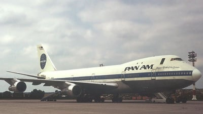 N653PA - Boeing 747-121 - Pan Am